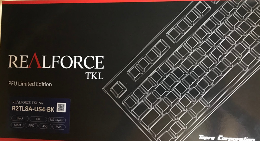 REALFORCE R2 PFU Limited Edition