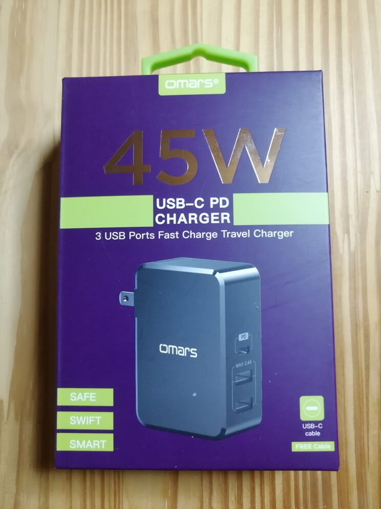 Omars USB C PD充電器45W