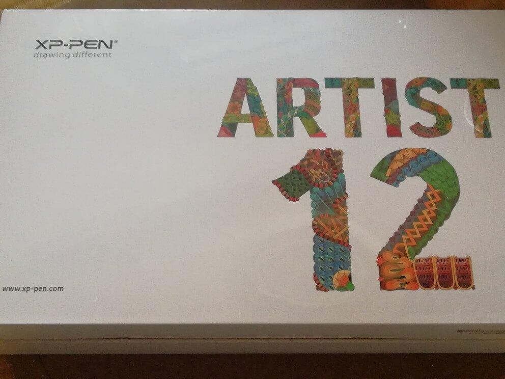 XP-Pen Artist12 箱