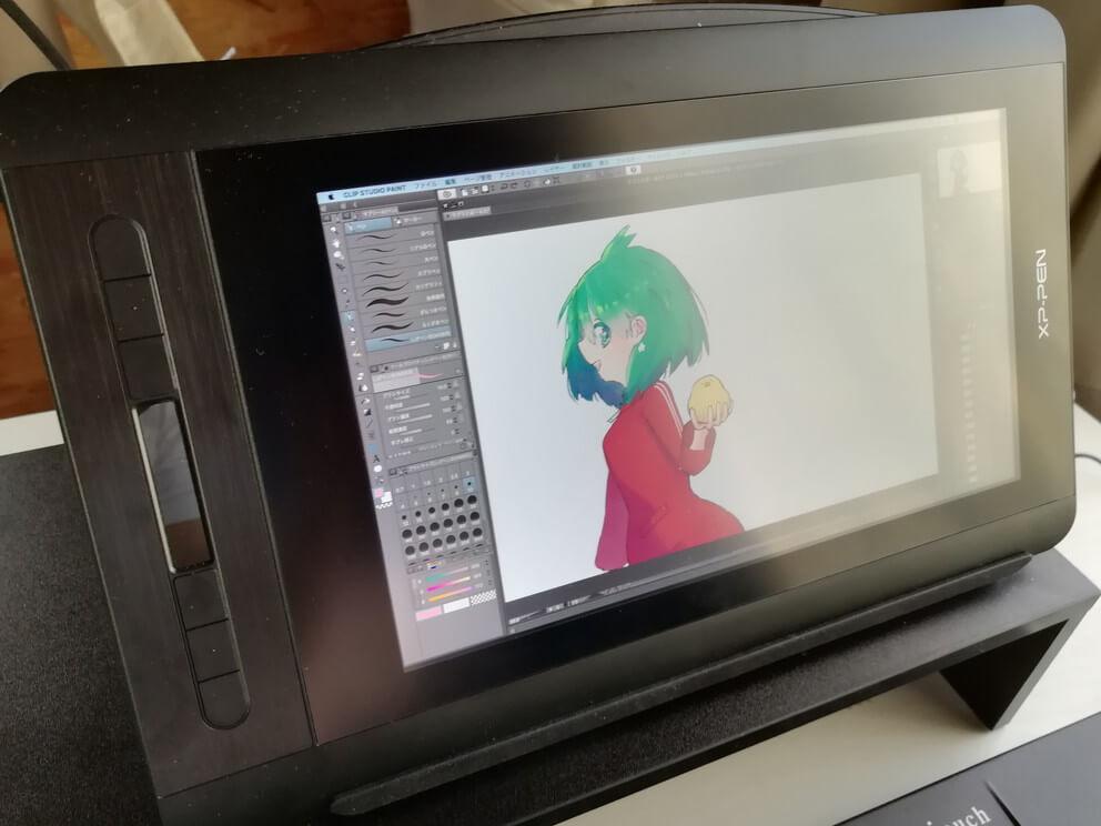 XP-Pen Artist12 使ってみた感想