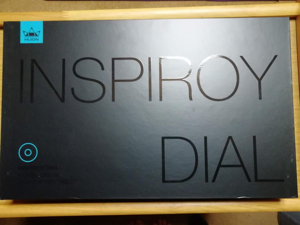 HUION Inspiroy Dial Q620M 箱