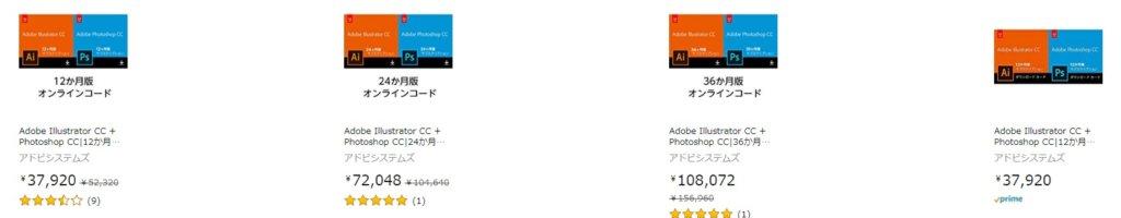 Adobe Illustrator CCとPhotoshop CCセットが28%OFF