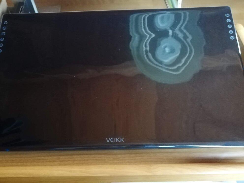 VK2200 開封後画面